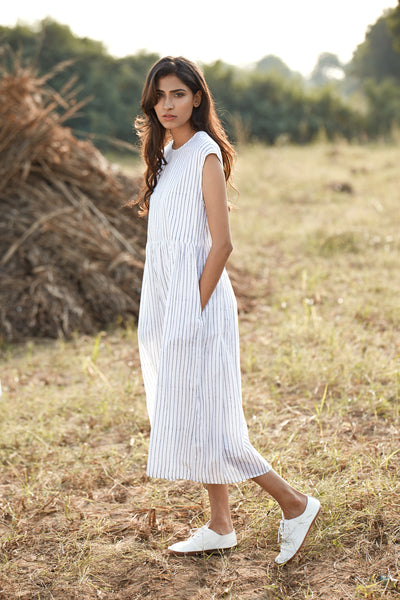Lehar Dress - Stripe
