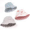 Grey Reversible Sunhat