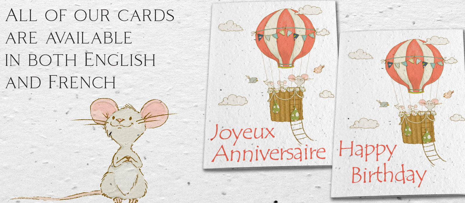 Plantable cards Childrens birthday