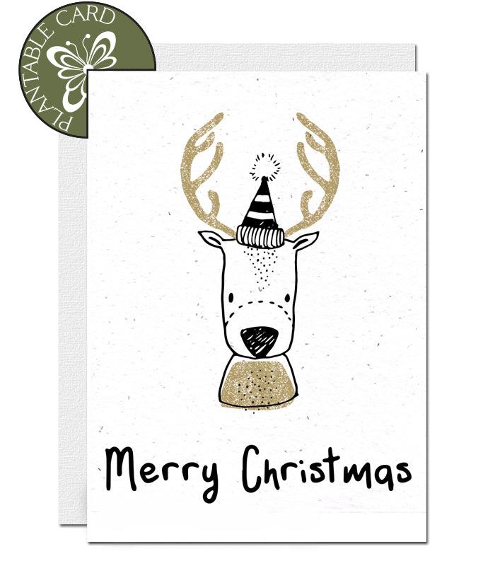 Biodegradable Christmas card