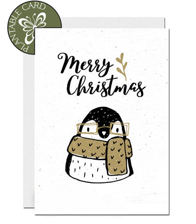 environmentally friendly Christmas card