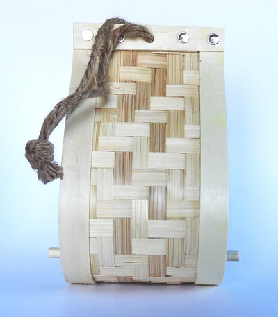 eco-friendly bird feeder, bamboo