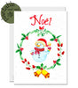 Plantable Christmas card - eco-friendly, gardener, wildlife lover