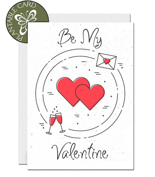 plantable valentines day card