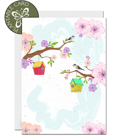 Ecofriendly blank card