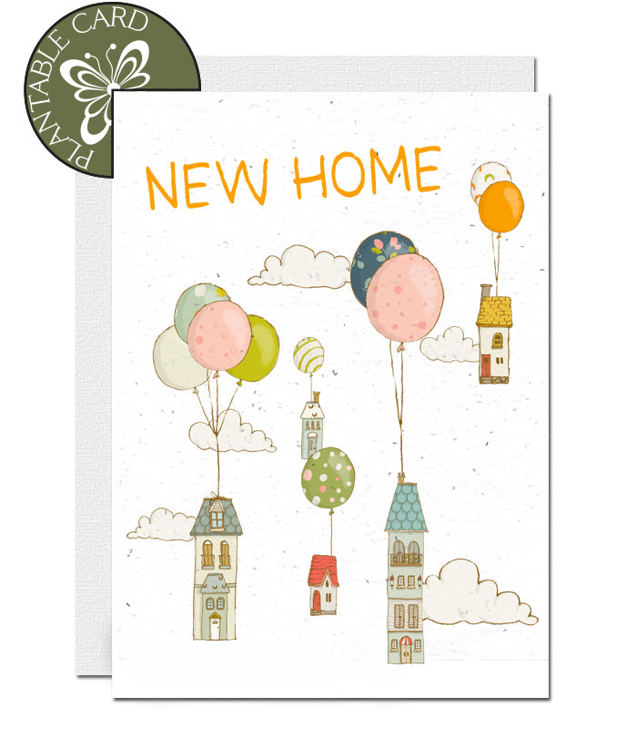 plantable card new home