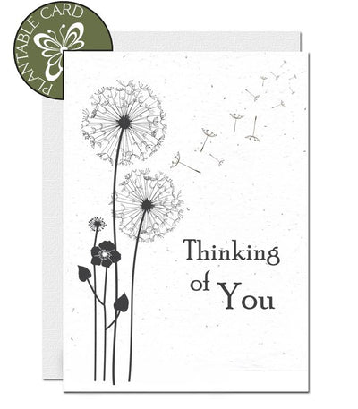 ecofriendly sympathy card