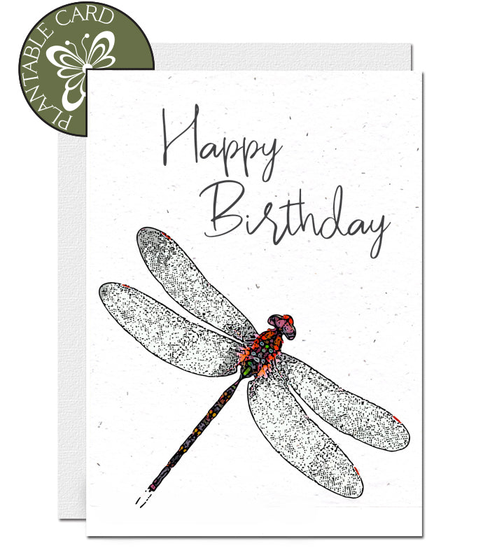 plantable card birthday