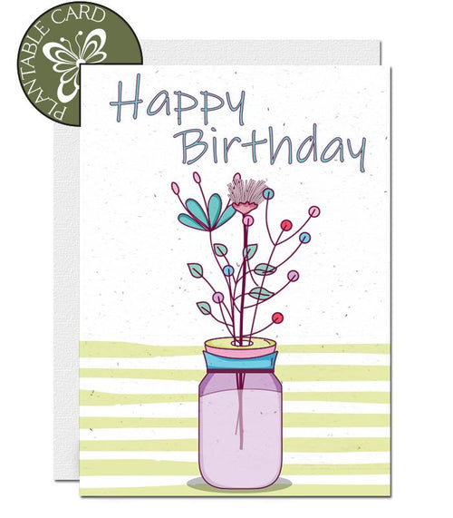 environmentally friendly birthday cards