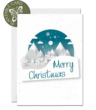 ecofriendly christmas card
