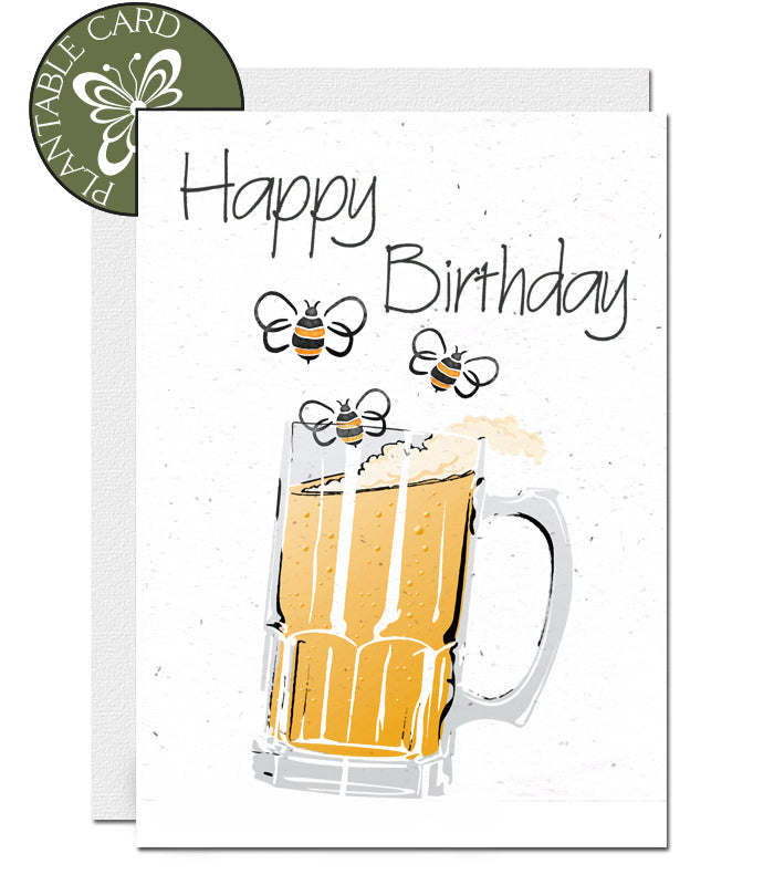 plantable birthday card