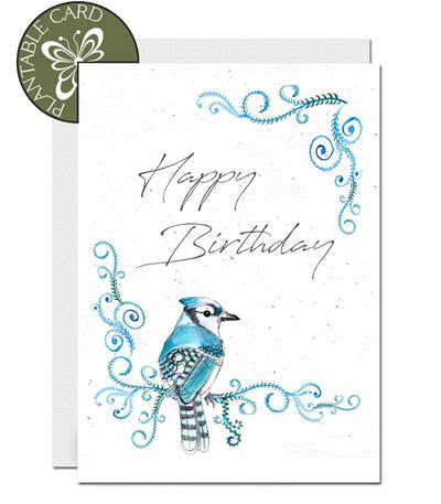 seed paper birthday card