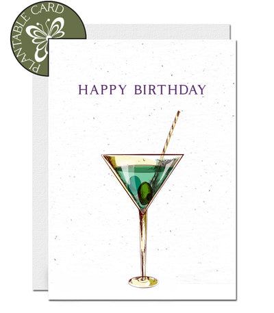 plantable cards birthday