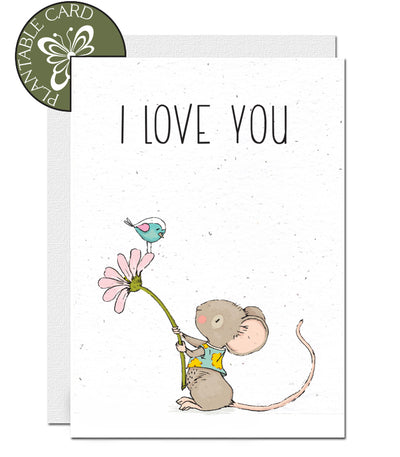 plantable wedding anniversary card