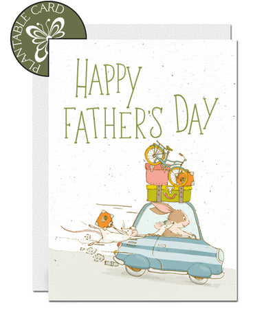 plantable father's day card