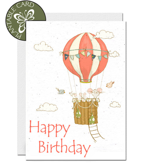 environmentally friendly birthday card