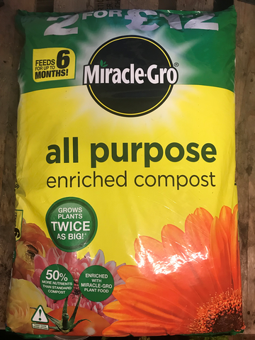 Miracle grow quality compost,