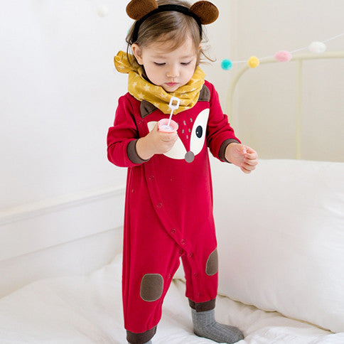 Red Fox Jumpsuit