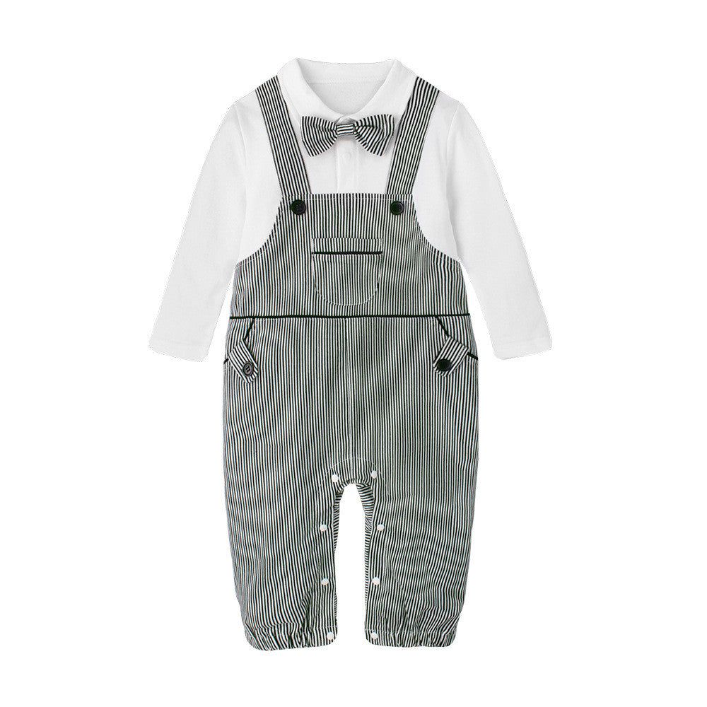 Overall Stripes Jumpsuit