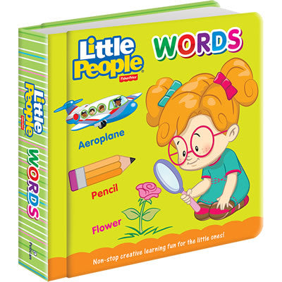 Fisher-Price Padded Board Book: Words