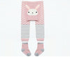 Pink Polka Dots Rabbit PP Pants with Socks - I Babyland  - 4