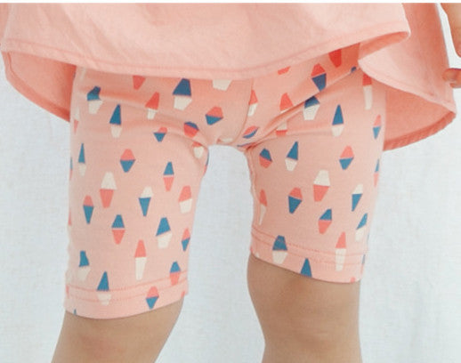 Pink Fox Top and Shorts Matching Set - I Babyland  - 2