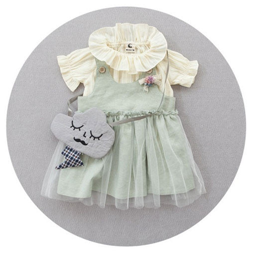 Overall Dress 2 pc Set