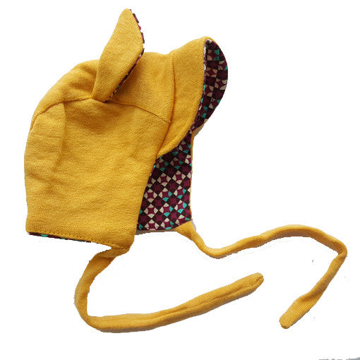 Baby Earhat in Mustard Yellow