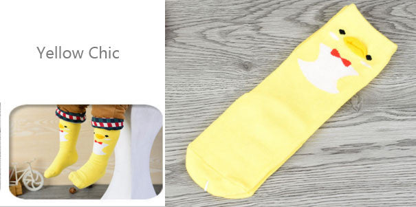 Yellow Chic knee length socks