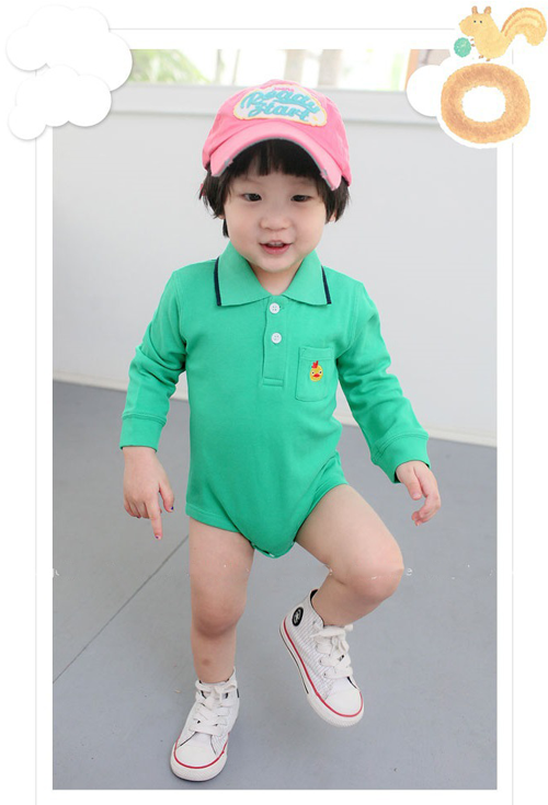 red Polo Bodysuit with a angry bird - I Babyland  - 2
