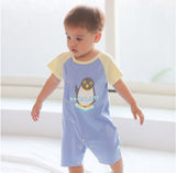 Grey and Blue Romper Value Pack