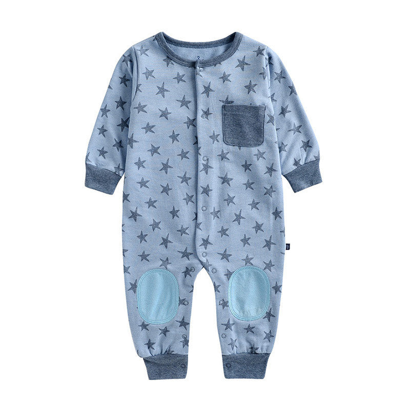 Grey Stars Jumpsuit