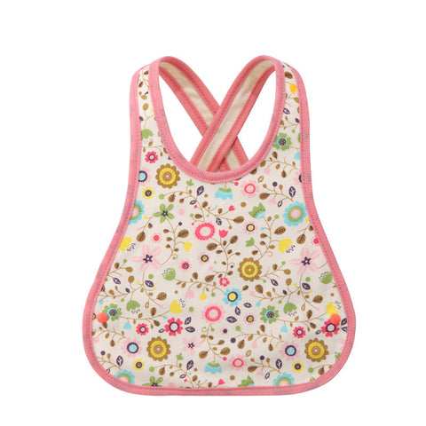 Polka Dots & Sheep Reversible Bib