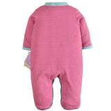 Stripes Strawberry Sleepsuit