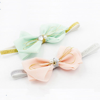 Sweet Pastel Ribbon Headband