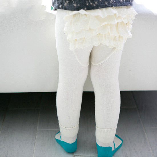 Ruffles PP Pants With Socks Set