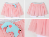Pink Tutu Short Legging