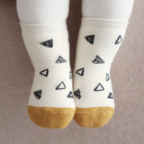Triangle Print Socks