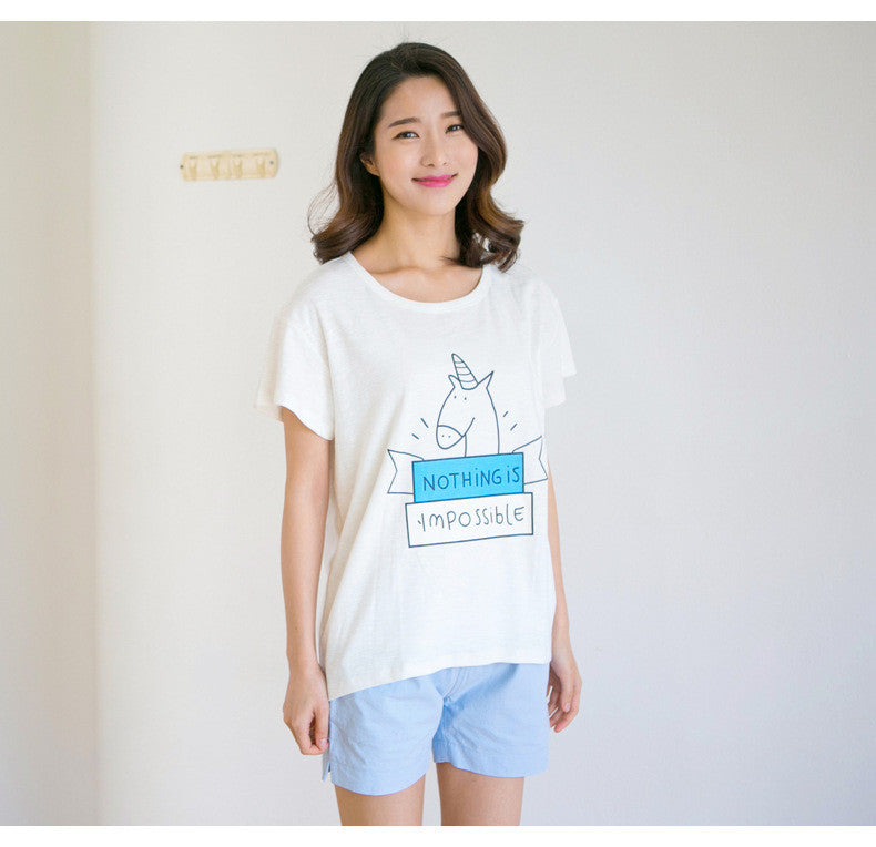 Nothing Is Impossible White Tee