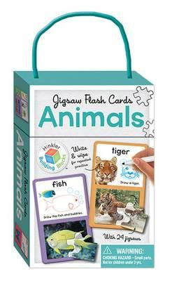 BUILDING BLOCKS: JIGSAW FLASH CARDS ANIMALS