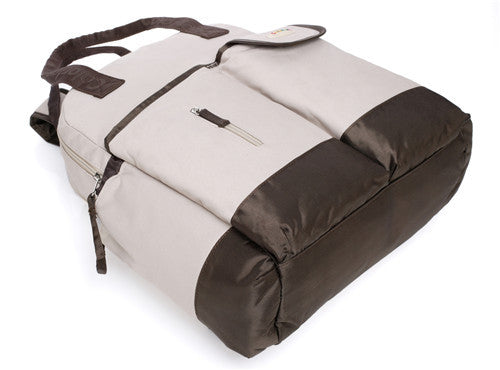 4 Way Carry Changing Bag in Khakis