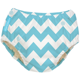 Blue Chevron - 2-in-1 Swim Diapers