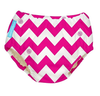 Hot Pink Chevron  - 2-in-1 Swim Diapers - I Babyland