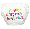 Hello Cloth White - 2-in-1 Swim Diapers - I Babyland