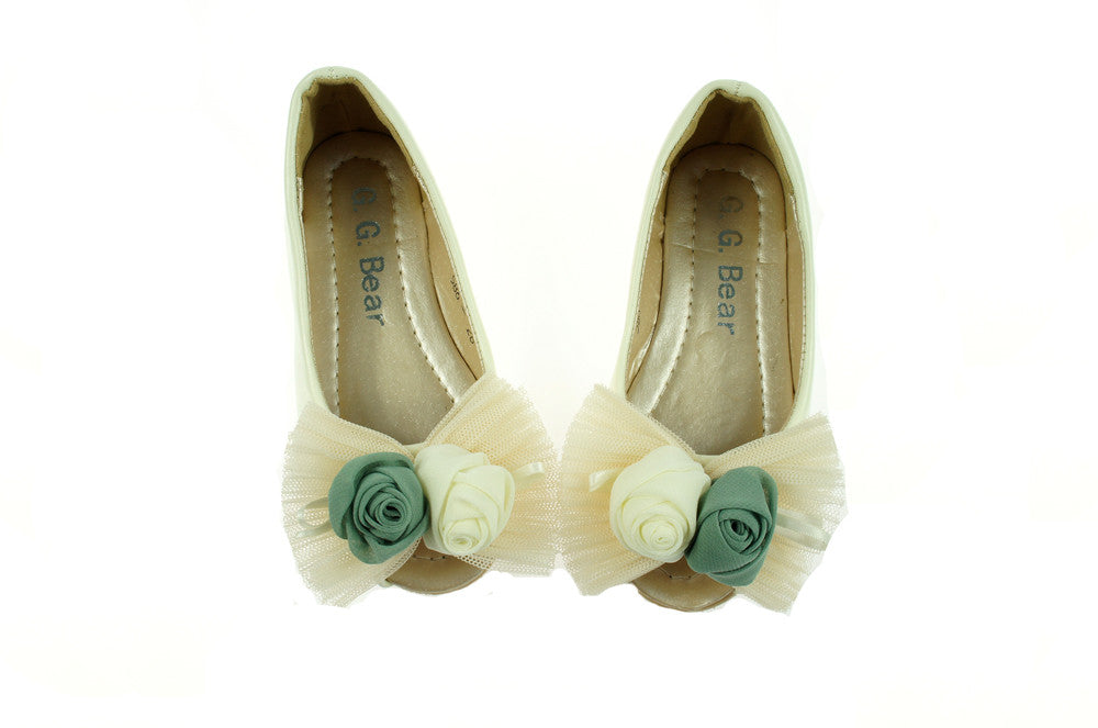 White Lace Rose Flat - I Babyland  - 1