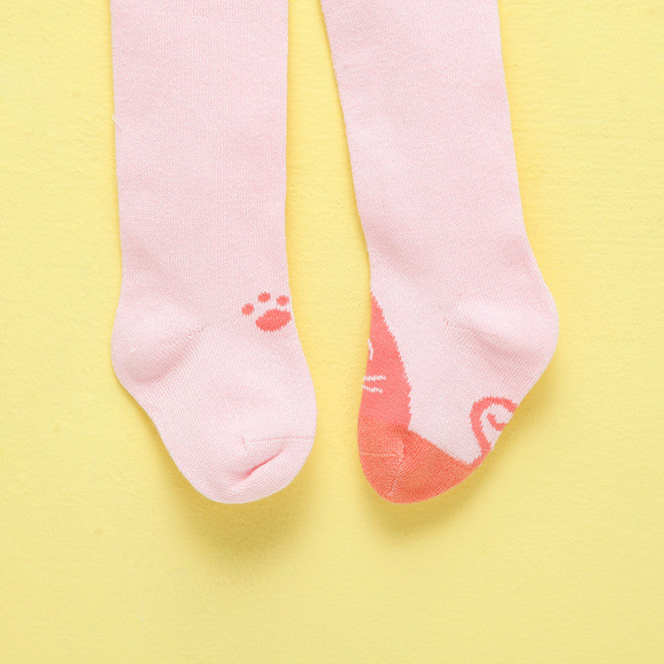 Kitty and Foot Print (Pink)
