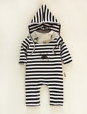 Black Stripes Mustache 3pc Set