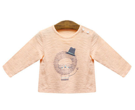 Animal Long Sleeve Top - Lion