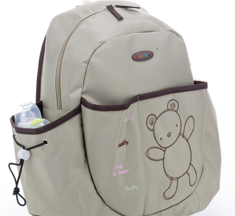Khakis Cutey Bear Diaper Backpack