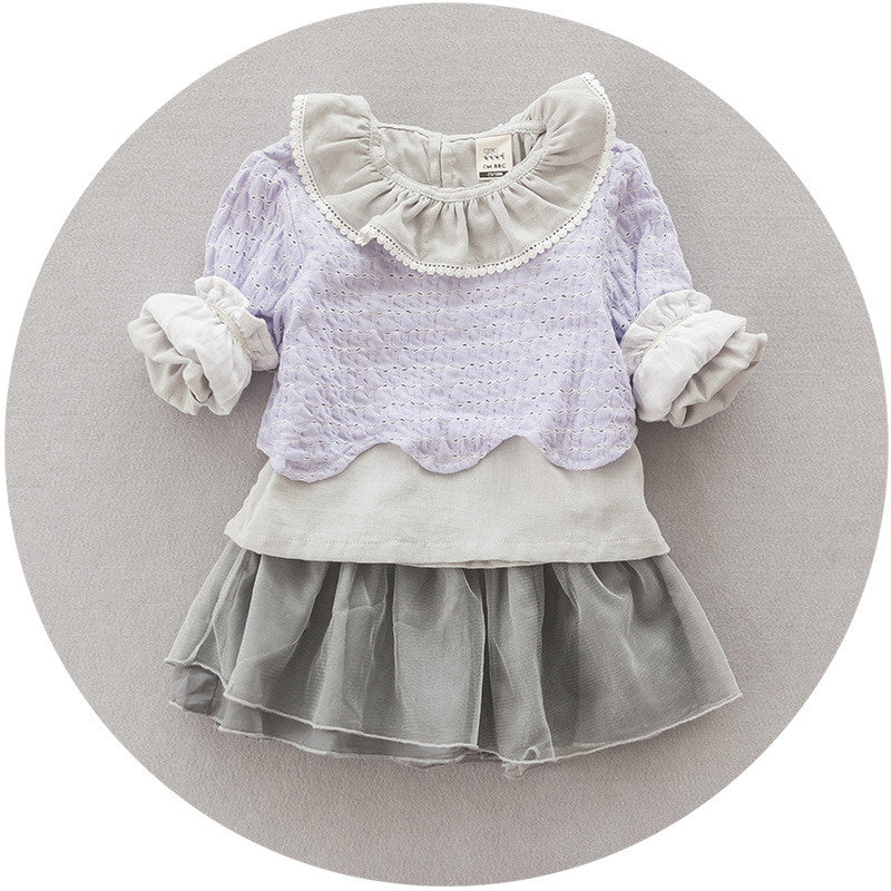 Lavender Sweater 3pc Set